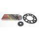 Natural Yamaha 520GXW Quick Acceleration Chain with Steel Sprocket  - 4107-069P