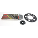 Natural BMW 520GXW Quick Acceleration Chain with Steel Sprocket  - 9101-099P