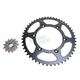 MX Racing 520DZ2 Gold Chain and Sprocket Kit - MXS-006OEM+1