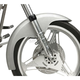 4.75 in. Wide Custom Long Shot Front Fender - 19 in. Wheel - 380370