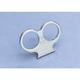 Tee Bar Dual Gauge Mount for 2.375 in./2.4 in. Mini-Gauges - 150DGM238