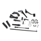 Black Forward Control Kit w/O-Ring Ride Pegs - 45903