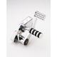 Polished Classic Solid Billet Aluminum Forward Controls - 100-5111