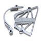 Gunmetal Case Saver/Sprocket Cover Kit - 03-04154-29