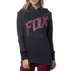 Women's Heather Black Definite Hoody