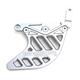 Gunmetal Rear Disc Guard - 07-04100-29