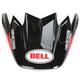 Black/Red Visor for Moto-9 Carbon Flex Syndrome Helmet - 8031062