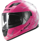Pink/White/Black Stream Wind Helmet