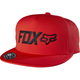 Flame Red Lampson Snapback Hat - 17704-122-OS
