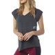 Women's Heather Black Aspire T-Shirt