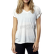 Women's Light Heather Gray Daunting V-Neck T-Shirt