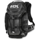Reflective Black Trooper Backpack - 3517-0407