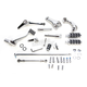 Chrome Forward Control Kit w/Comfort Ride Pegs - 45905