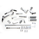 Chrome  Forward Control Kit w/O-Ring Ride Pegs - 45907