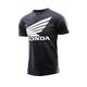 Youth Black Honda Wing T-Shirt