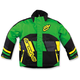 Youth Green/Yellow Comp Insulated Jacket