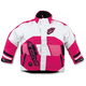 Youth Pink/White Comp Insulated Jacket