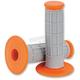 Gray/Orange Half Waffle Qualifier Grip - 0630-1833