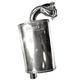 Stainless Ceramic Full Velocity Muffler - 02-119-SC