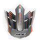 Frost Gray/Orange FX-17 Factor Visor - 0132-0933