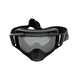 Black Ops Core Goggle w/Smoke Lens with Platinum Silver Finish - 173102-1000-00