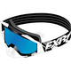 White Core Goggle w/Smoke Lens with Cobalt Blue Finish - 173102-0100-00