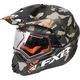 Army Urban Camo/Orange Torque X Squadron Helmet w/Electric Shield