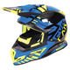 Black/Blue/Hi-Vis Boost Battalion Helmet