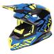 Black/Blue/Hi-Vis Boost Battalion Helmet