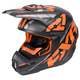 Black/Flo Orange/Charcoal Torque Core Helmet