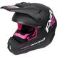 Black/Fuchsia Torque Recoil Helmet