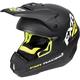 Black/Hi-Vis Torque Recoil Helmet