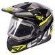 Black/Hi-Vis/Charcoal FX-1 Team Helmet w/Electric Shield