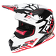 Black/Red/White Boost Battalion Helmet