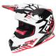 Black/Red/White Boost Battalion Helmet