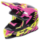 Electric Pink/Hi-Vis/Black Boost Revo Helmet