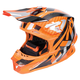 Flo Orange/Silver Blade Carbon Helmet