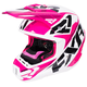 Fuchsia/White/Black Torque Core Helmet