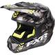 Gray Urban Camo/Hi-Vis Torque Squadron Helmet