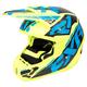 Hi-Vis/Blue/Black Torque Core Helmet