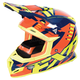 Navy/Orange/Hi-Vis Boost Revo Helmet