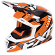 Orange/Black/White Boost Revo Helmet
