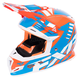 Orange/Blue/White Boost Revo Helmet