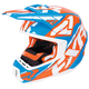 Orange/Blue/White Torque Core Helmet