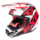 Red/White/Black Torque Core Helmet