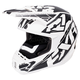 White/Black Torque Core Helmet