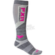Womens Grey/Fuchsia 2 Pack Boost Performance Socks - 15836.20900