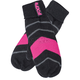 Womens Black/Charcoal/Pink Mischief Mitts - 16711.90100