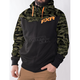 Army Urban Camo/Black/Orange Terrain Sherpa Tech Hoody