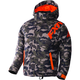 Youth Army Urban Camo/Orange Squadron Jacket